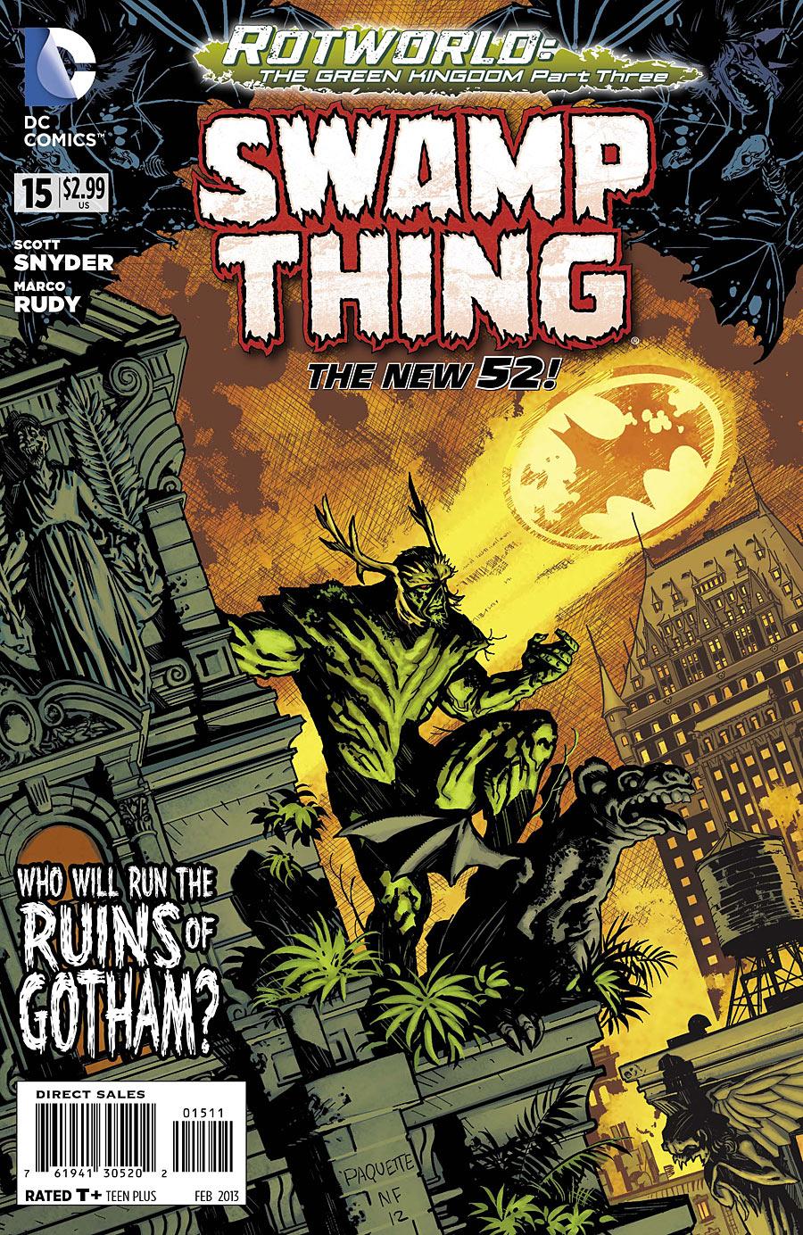 Swamp Thing #15