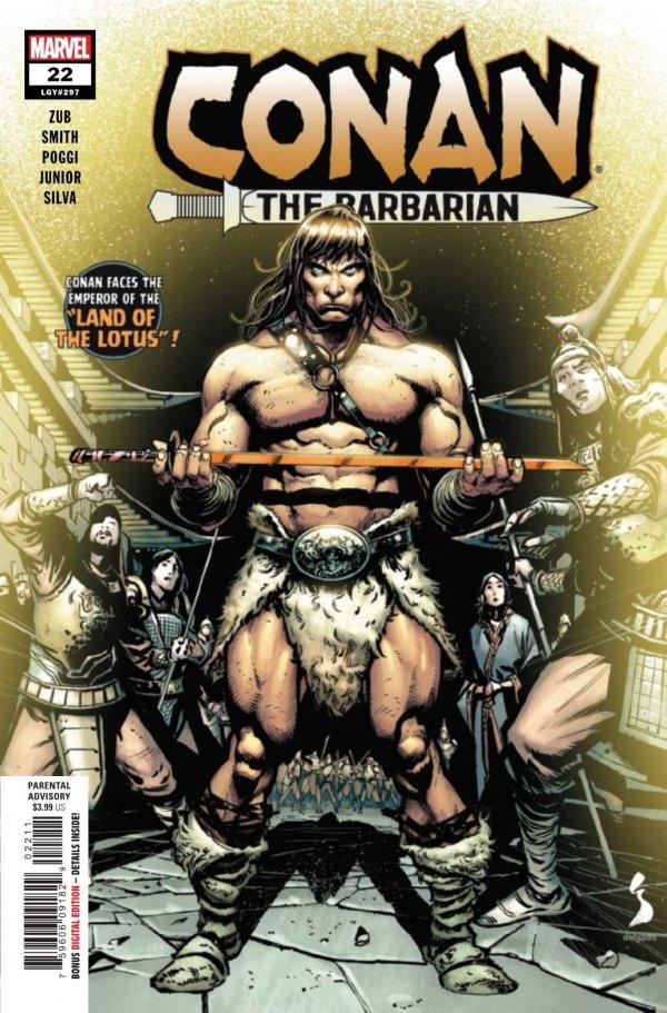 Conan the Barbarian #22