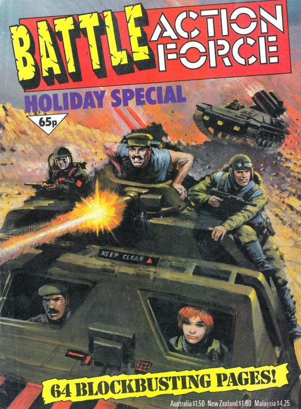 Battle Picture Weekly Annual #Holiday Special 1986