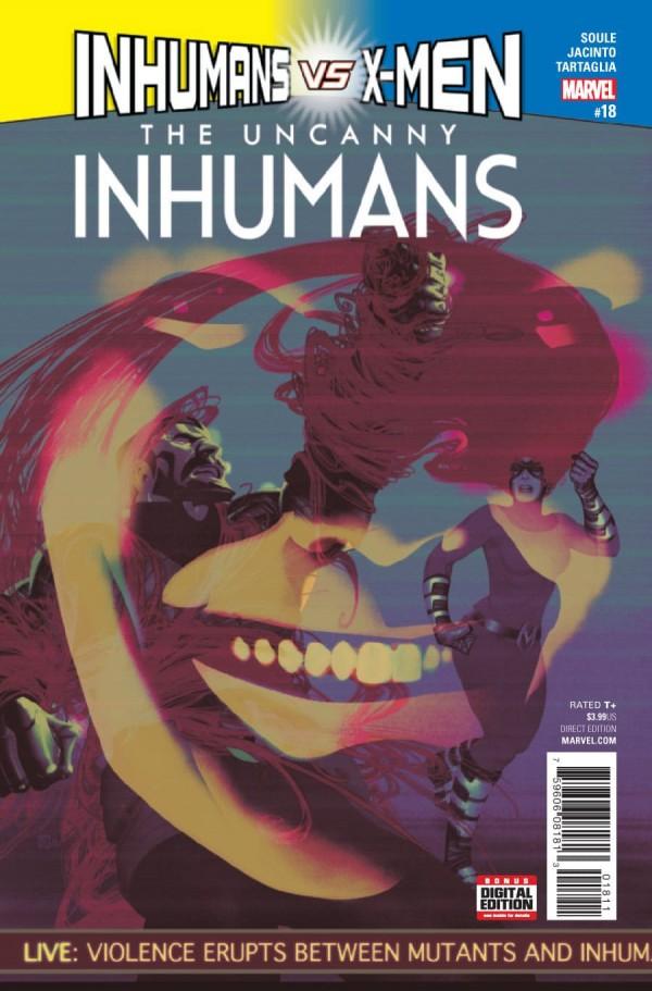The Uncanny Inhumans #18