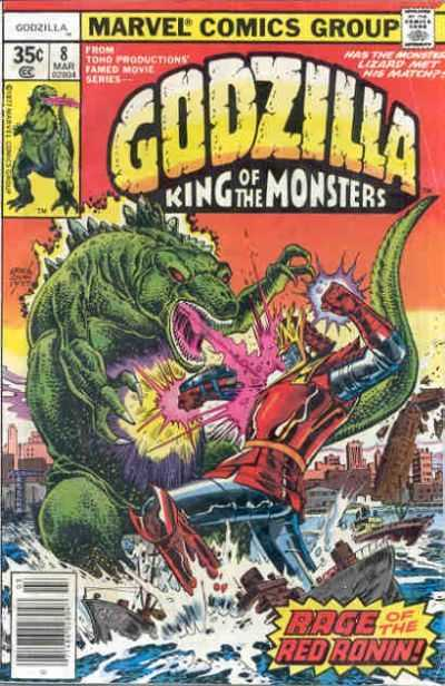 Godzilla: King of the Monsters #8