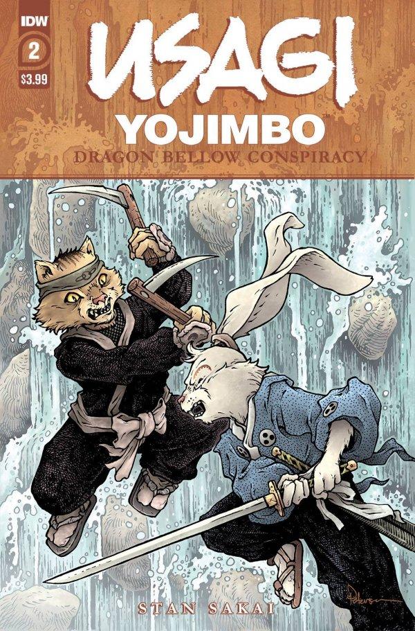 Usagi Yojimbo: Dragon Bellow Conspiracy #2