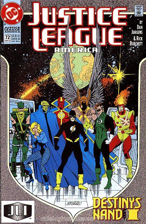 Justice League America #72