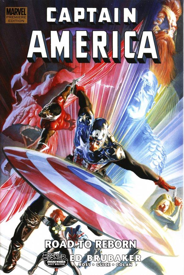 Captain America:  Road To Reborn HC Premiere