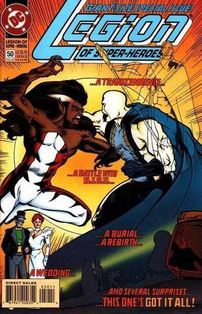 Legion of Super-Heroes #50
