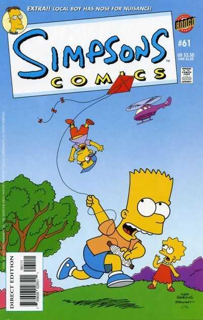 Simpsons Comics #61