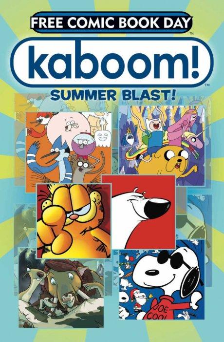 Free Comic Book Day 2013: Kaboom! Summer Blast! #1