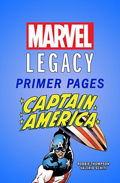 Captain America - Marvel Legacy Primer Pages #1