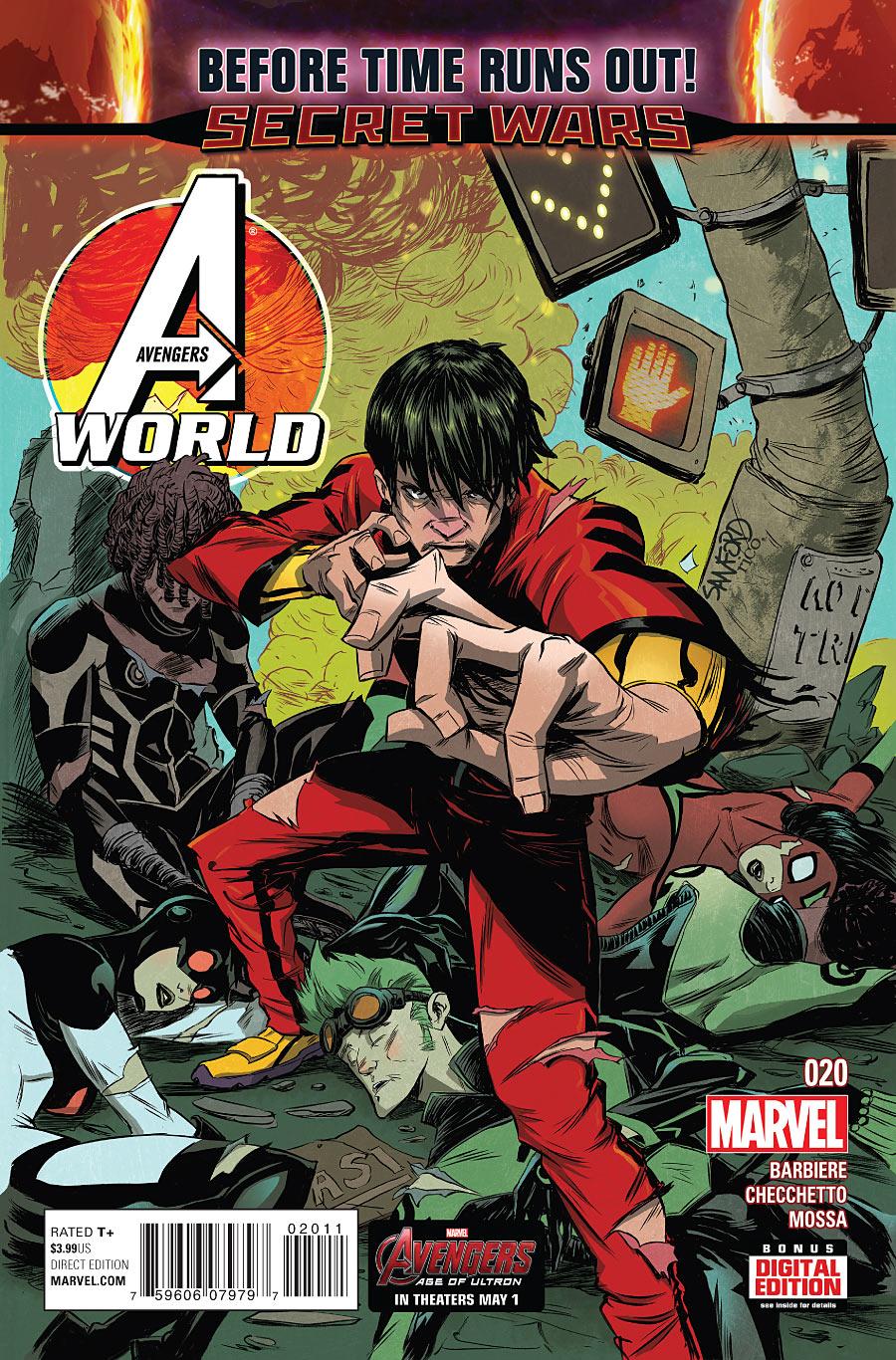 Avengers World #20