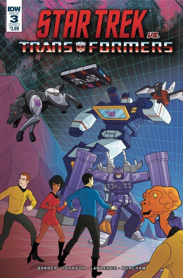 Star Trek vs. Transformers #3