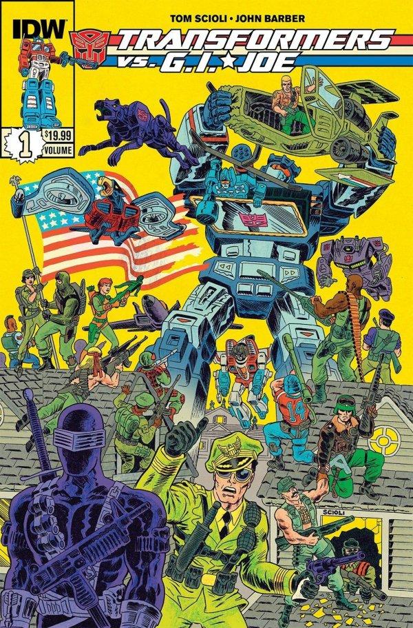 Transformers vs. G.I. Joe Vol. 1 TP