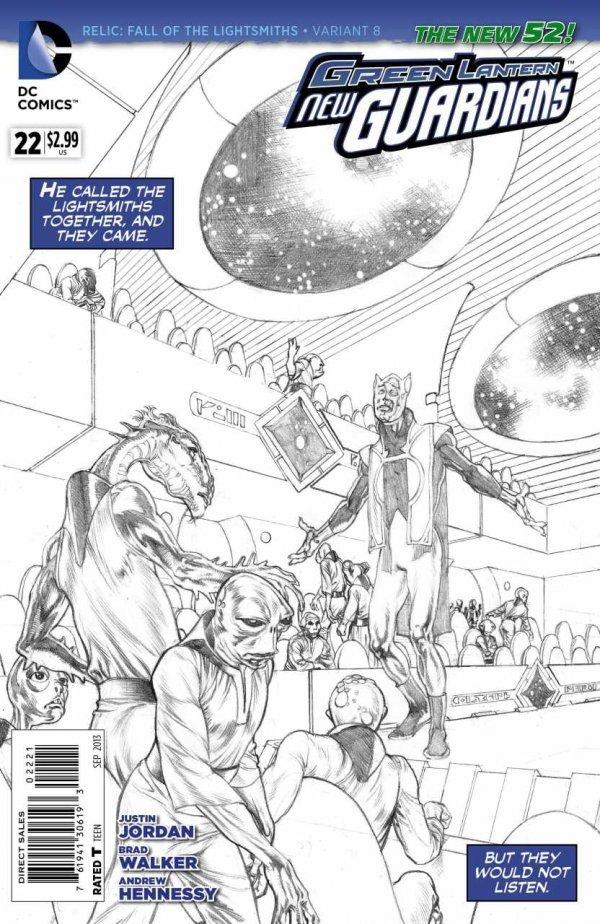 Green Lantern: New Guardians #22
