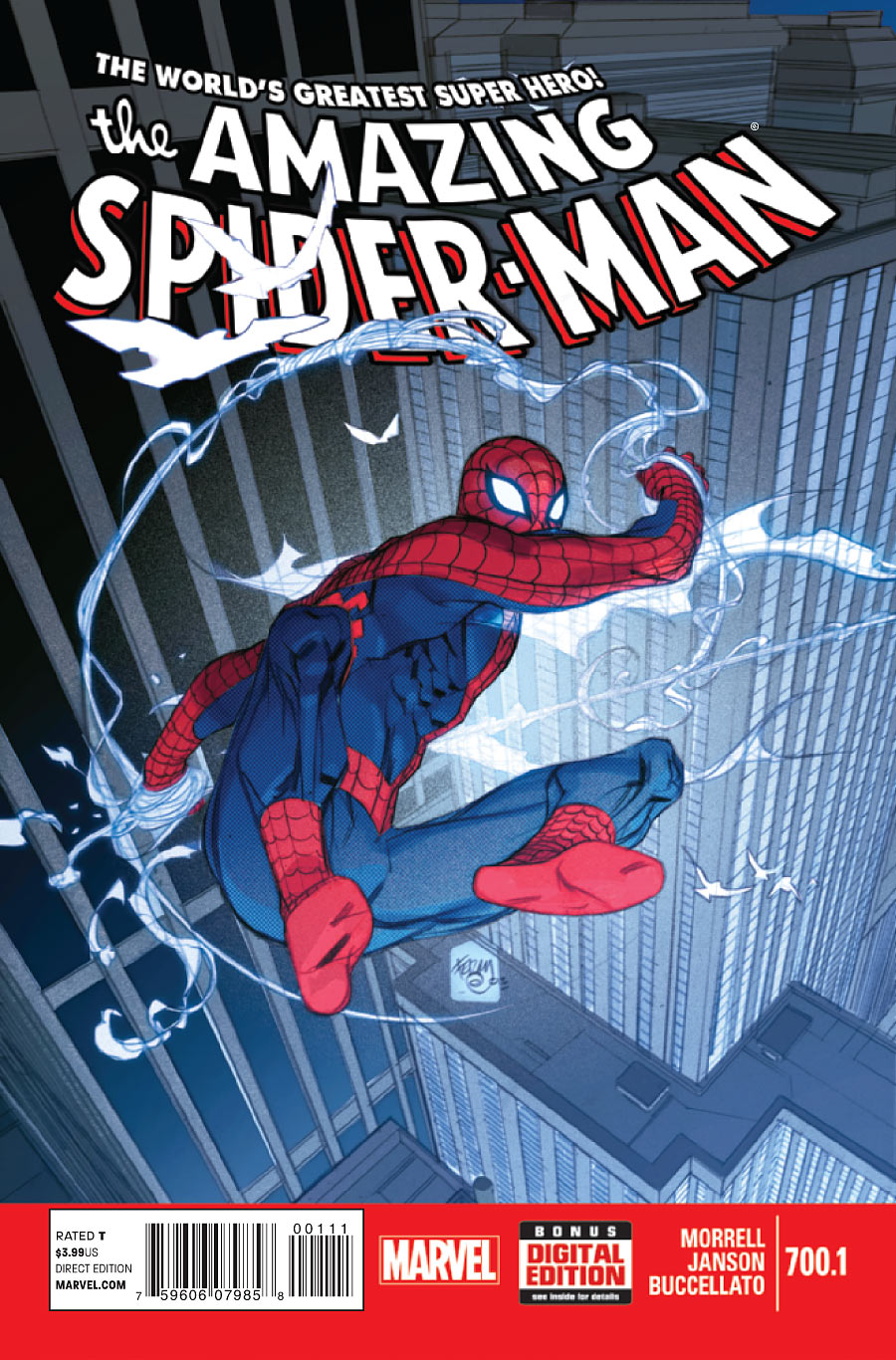 The Amazing Spider-Man #700.1