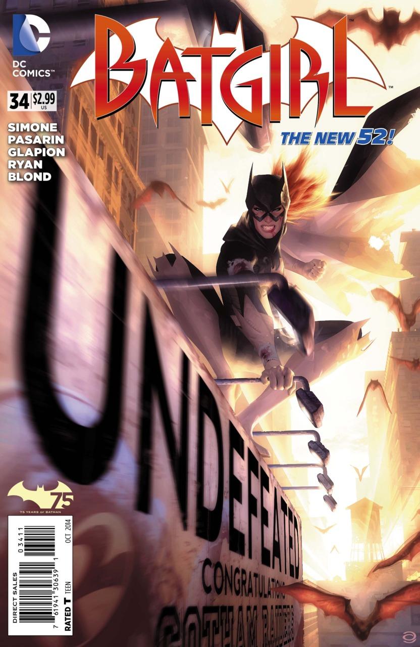 Batgirl #34