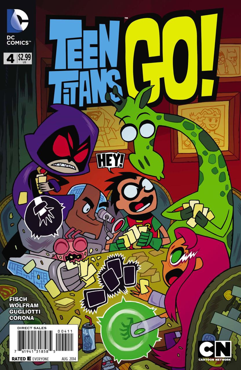 Teen Titans Go! #4