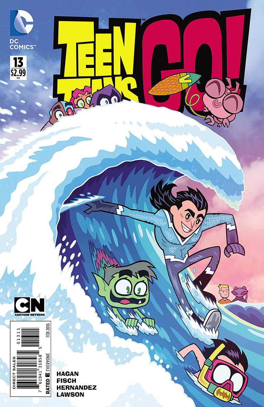 Teen Titans Go! #13