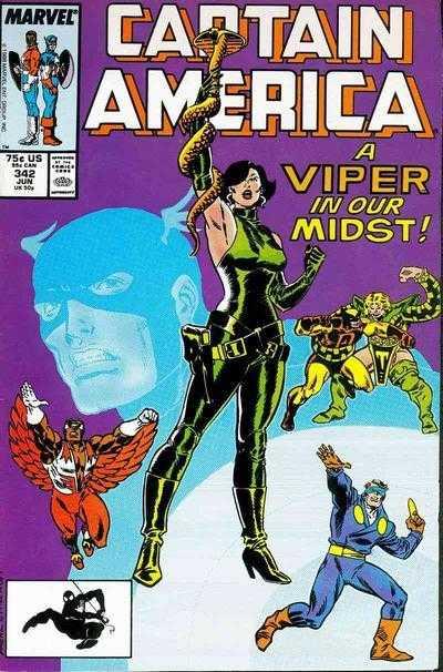 Captain America #342