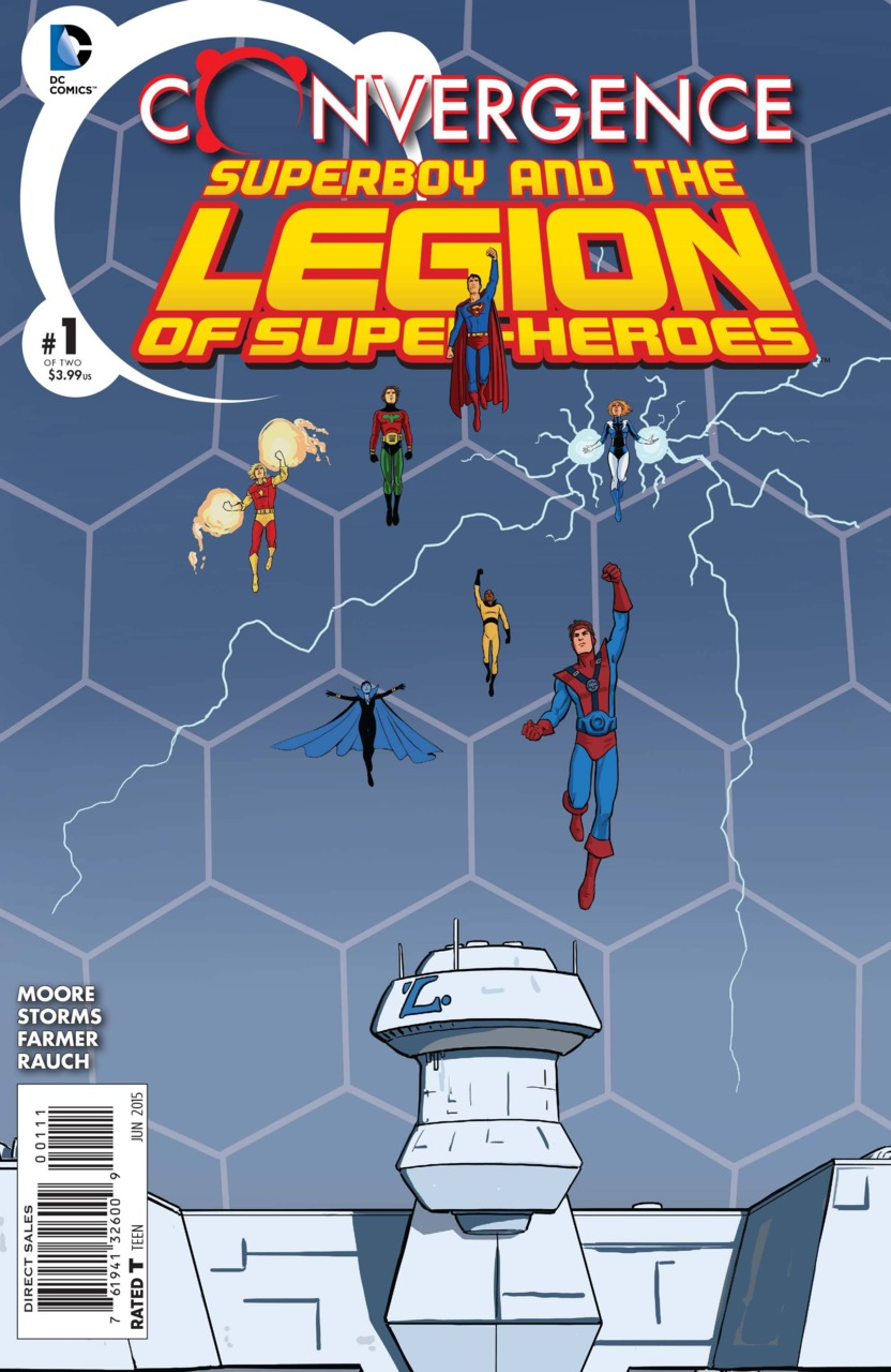 Convergence: Superboy and The Legion of Superheroes #1