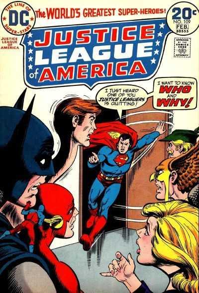 Justice League of America #109