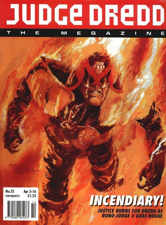 Judge Dredd: The Megazine #25