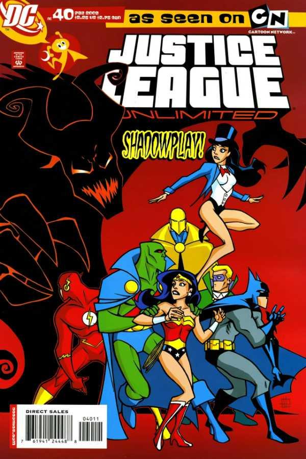 Justice League Unlimited #40