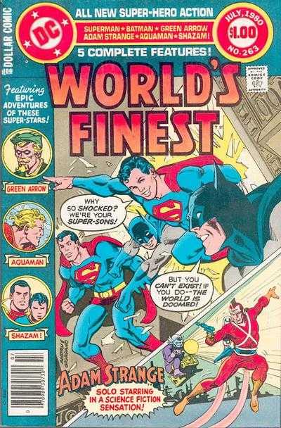 World's Finest Comics #263
