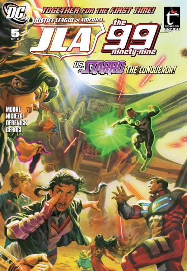 JLA: The 99 #5