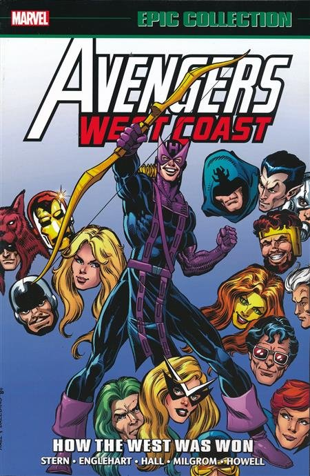Avengers West Coast Epic Collection: How the West was Won TP