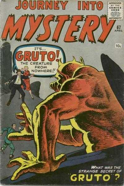 Journey into Mystery #67