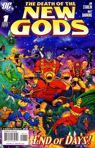 The Death of the New Gods #1