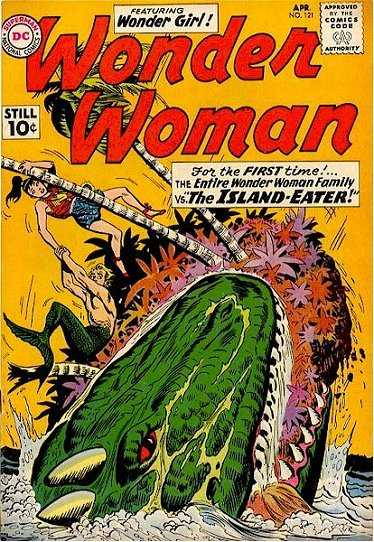 Wonder Woman #121