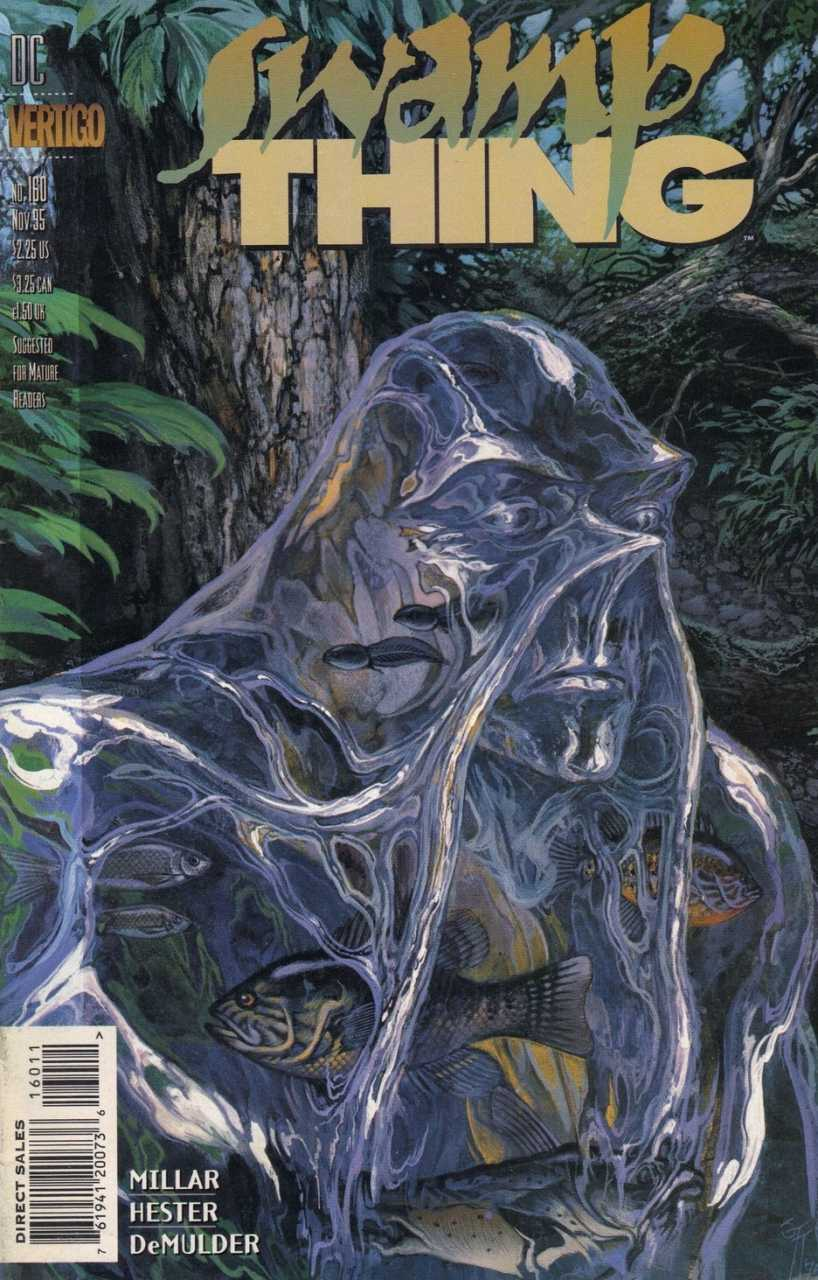 The Saga of the Swamp Thing #160