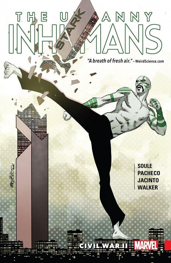 The Uncanny Inhumans Vol. 3: Civil War II TP