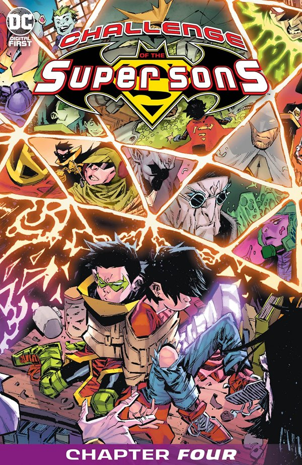 Challenge of the Super Sons Chapter #4