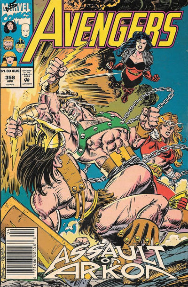 The Avengers #358