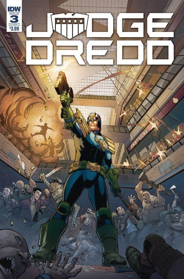 Judge Dredd: Under Siege #3