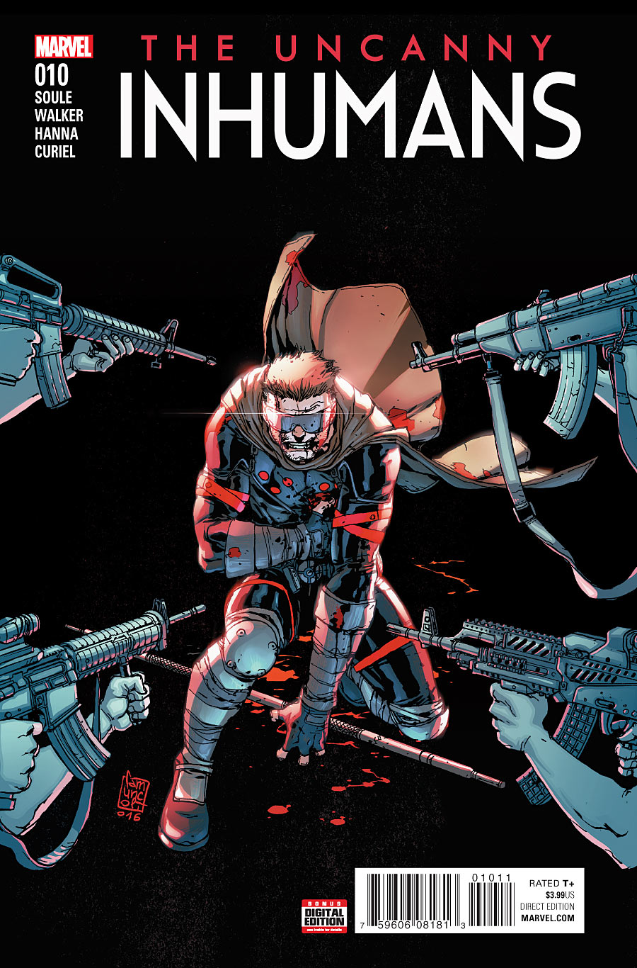 The Uncanny Inhumans #10