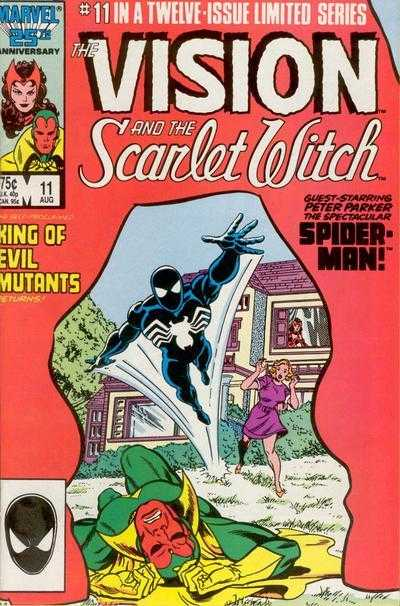 The Vision and the Scarlet Witch #11