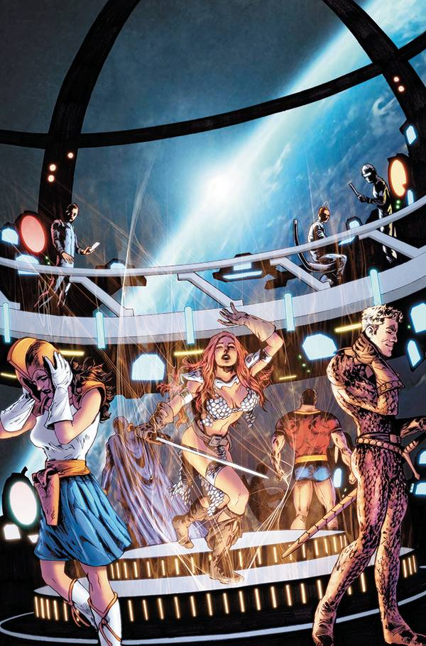 Red Sonja: The Superpowers #4