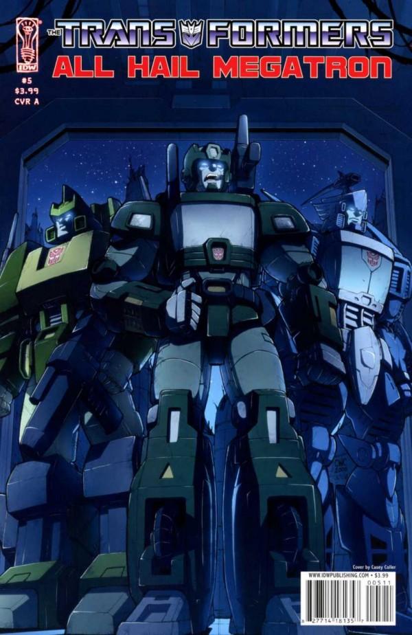 The Transformers: All Hail Megatron #5