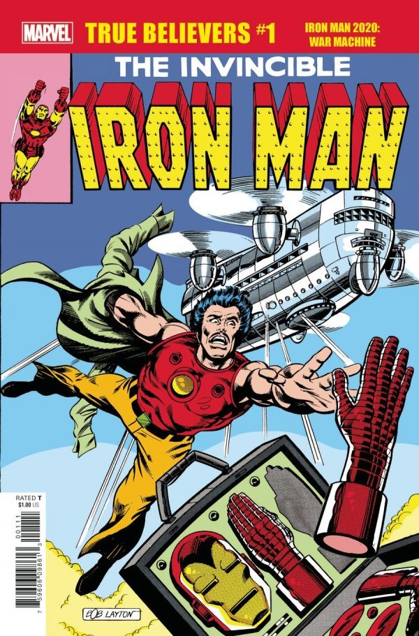 True Believers: Iron Man 2020 - War Machine #1