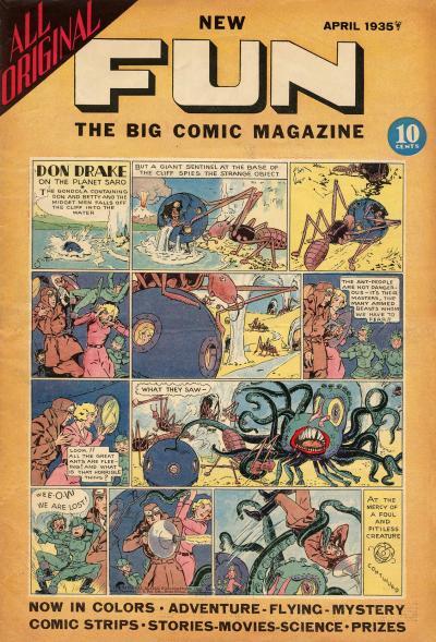 More Fun Comics #3