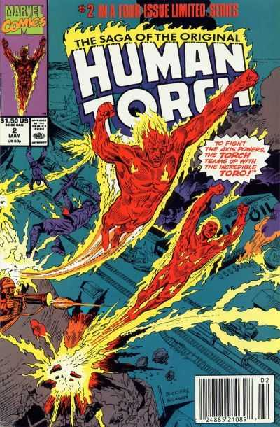 Saga of the Original Human Torch #2
