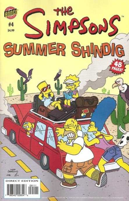 The Simpsons Summer Shindig #4