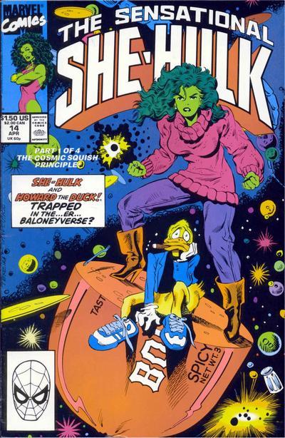 The Sensational She-Hulk #14