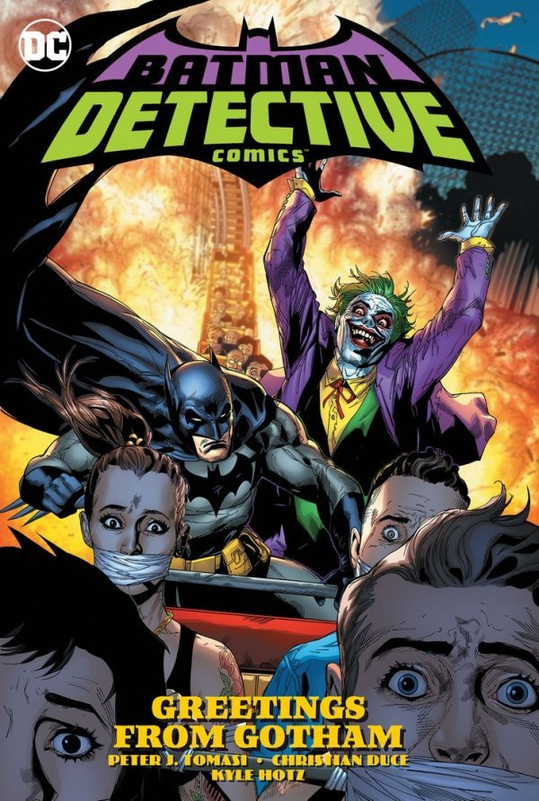 Detective Comics Vol. 3: Greetings from Gotham TP