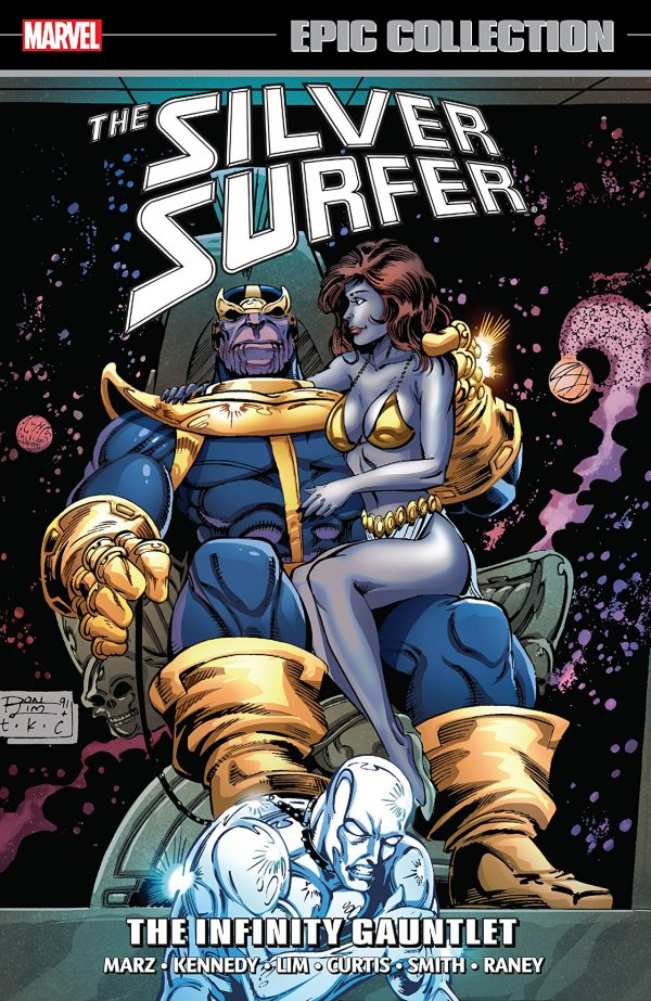 Silver Surfer Epic Collection: The Infinity Gauntlet TP