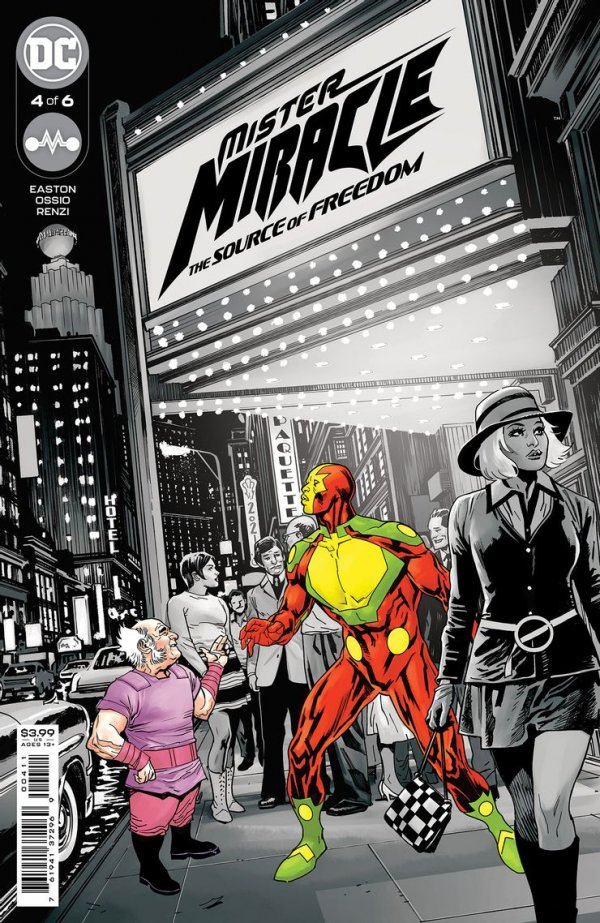 Mister Miracle: The Source of Freedom #4