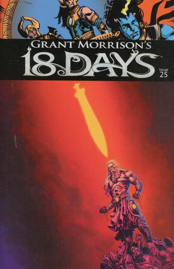 18 Days Comic Book