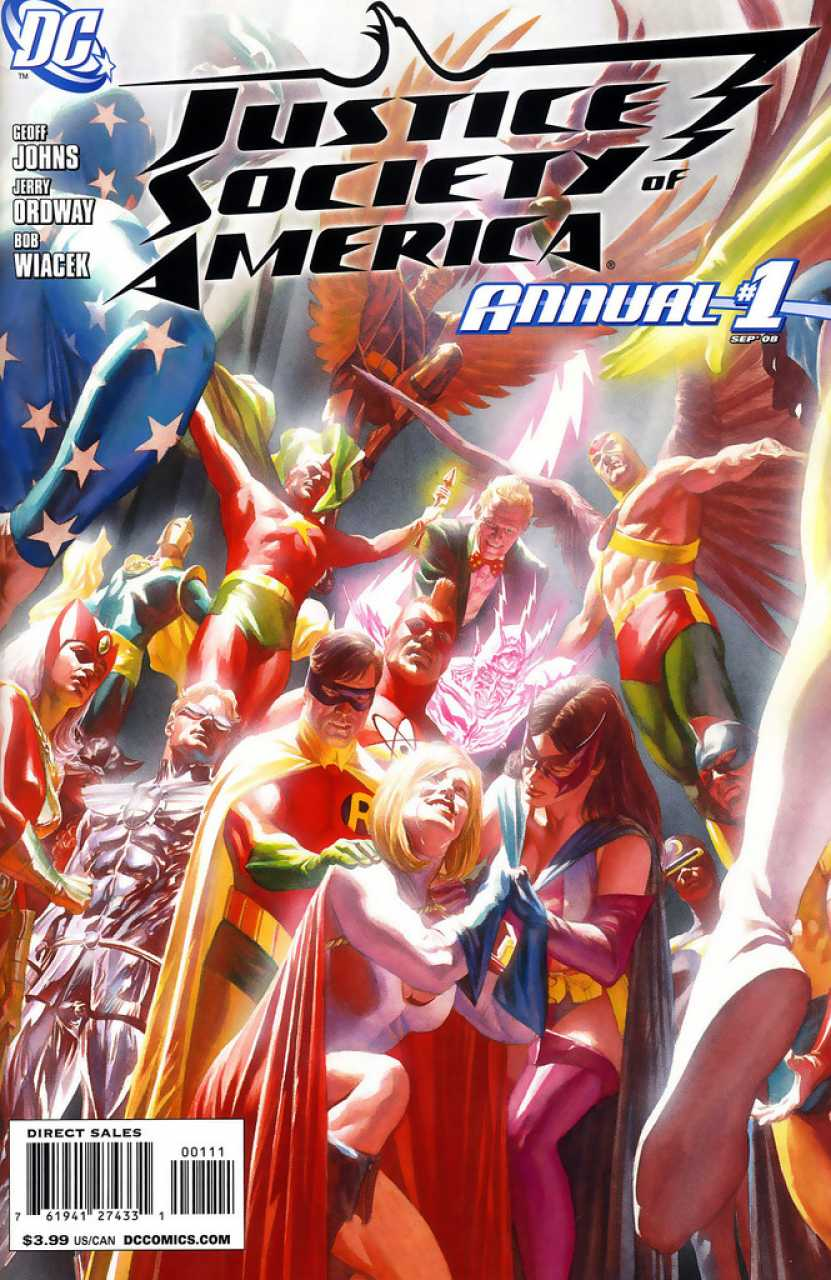 Justice Society of America Annual #1